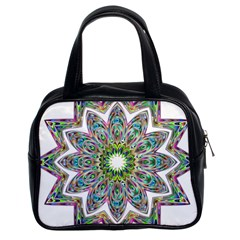 Decorative Ornamental Design Classic Handbags (2 Sides)