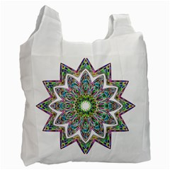 Decorative Ornamental Design Recycle Bag (two Side)