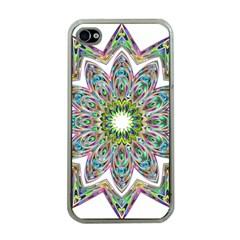 Decorative Ornamental Design Apple Iphone 4 Case (clear)