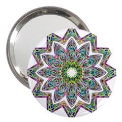 Decorative Ornamental Design 3  Handbag Mirrors