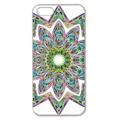 Decorative Ornamental Design Apple Seamless iPhone 5 Case (Clear)