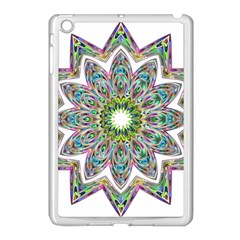 Decorative Ornamental Design Apple Ipad Mini Case (white)