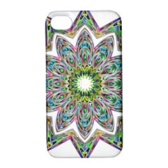 Decorative Ornamental Design Apple Iphone 4/4s Hardshell Case With Stand