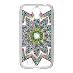 Decorative Ornamental Design Samsung Galaxy S4 I9500/ I9505 Case (white)