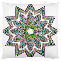 Decorative Ornamental Design Standard Flano Cushion Case (one Side)