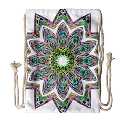 Decorative Ornamental Design Drawstring Bag (large)