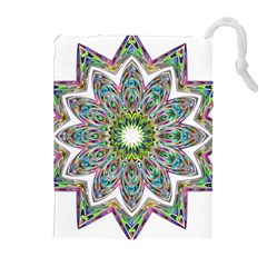 Decorative Ornamental Design Drawstring Pouches (extra Large)