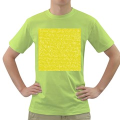 Handwriting  Green T-Shirt