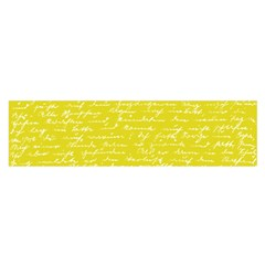Handwriting  Satin Scarf (Oblong)