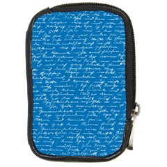 Handwriting Compact Camera Cases