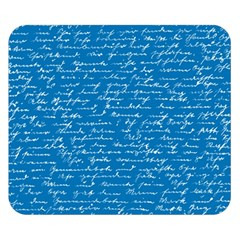 Handwriting Double Sided Flano Blanket (Small)