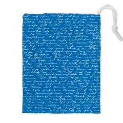 Handwriting Drawstring Pouches (XXL)