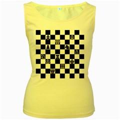 Chess Women s Yellow Tank Top