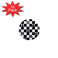 Chess 1  Mini Magnet (10 pack)