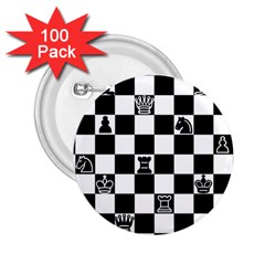 Chess 2.25  Buttons (100 pack)