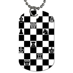 Chess Dog Tag (One Side)