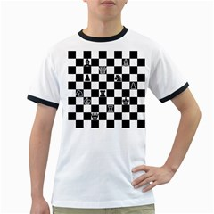 Chess Ringer T-Shirts