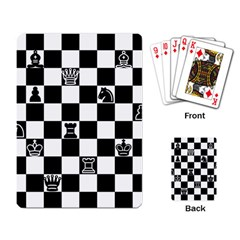 Chess Playing Card