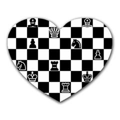 Chess Heart Mousepads