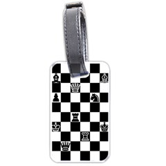 Chess Luggage Tags (One Side)