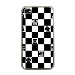Chess Apple iPhone 4 Case (Clear)