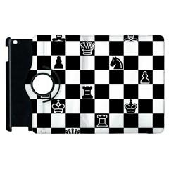 Chess Apple iPad 3/4 Flip 360 Case