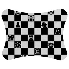 Chess Jigsaw Puzzle Photo Stand (Bow)