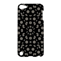 Dark Ditsy Floral Pattern Apple iPod Touch 5 Hardshell Case