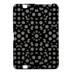 Dark Ditsy Floral Pattern Kindle Fire HD 8.9