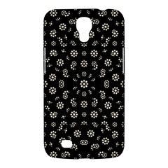 Dark Ditsy Floral Pattern Samsung Galaxy Mega 6.3  I9200 Hardshell Case
