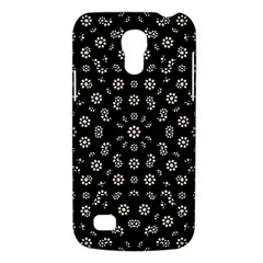 Dark Ditsy Floral Pattern Galaxy S4 Mini
