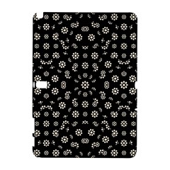 Dark Ditsy Floral Pattern Galaxy Note 1