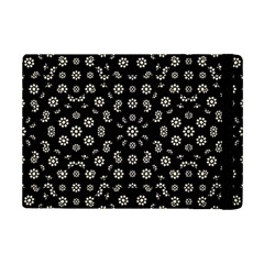 Dark Ditsy Floral Pattern iPad Mini 2 Flip Cases