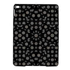 Dark Ditsy Floral Pattern iPad Air 2 Hardshell Cases
