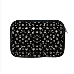 Dark Ditsy Floral Pattern Apple Macbook Pro 15  Zipper Case
