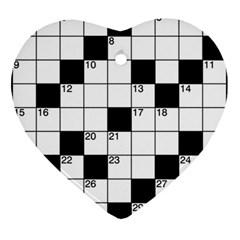 Crosswords  Ornament (Heart)