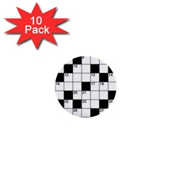 Crosswords  1  Mini Buttons (10 pack)