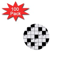 Crosswords  1  Mini Buttons (100 pack)