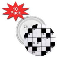 Crosswords  1.75  Buttons (10 pack)