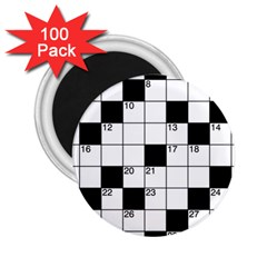Crosswords  2.25  Magnets (100 pack)