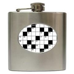 Crosswords  Hip Flask (6 oz)