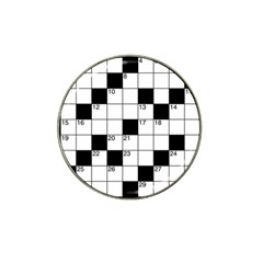 Crosswords  Hat Clip Ball Marker (4 pack)