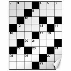 Crosswords  Canvas 12  x 16