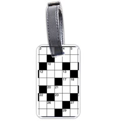 Crosswords  Luggage Tags (One Side)