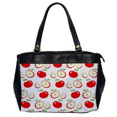 Apple pattern Office Handbags