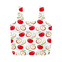 Apple Pattern Full Print Recycle Bags (m)