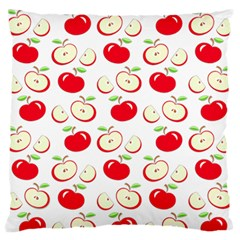 Apple pattern Standard Flano Cushion Case (One Side)