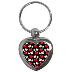 Apple pattern Key Chains (Heart)