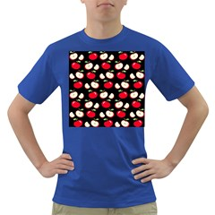 Apple pattern Dark T-Shirt