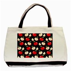 Apple pattern Basic Tote Bag